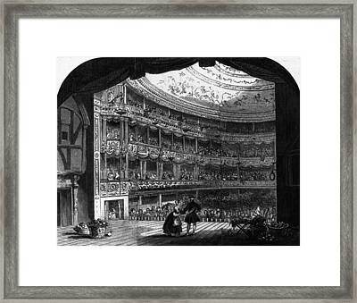 Lyceum Theatre Framed Print by Hulton Archive