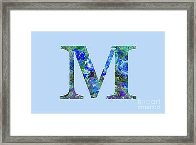 M 2019 Collection Framed Print
