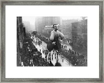 Macys Thanksgiving Day Parade Framed Print by Fpg