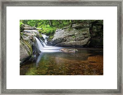 Mad River Falls Framed Print