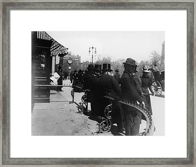 Madison Square Park New York Framed Print by Frederic Lewis