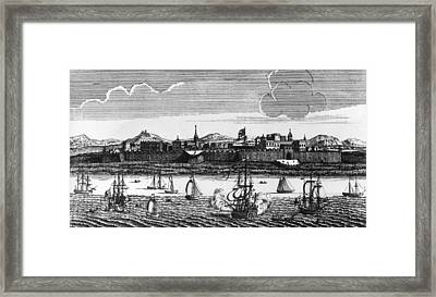 Madras Seaport Framed Print by Hulton Archive