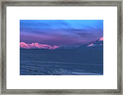Magic Artic Framed Print
