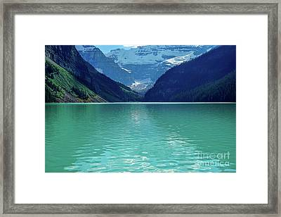 Magic At Lake Louise Framed Print