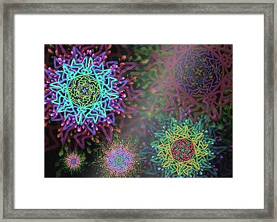 Magic Remix Framed Print