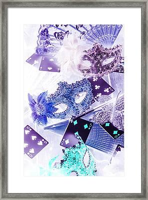 Magical Masquerade Framed Print