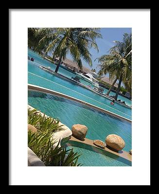 Beach Framed Prints