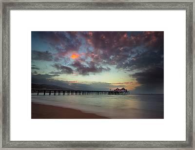 Malibu Pier IIi Framed Print