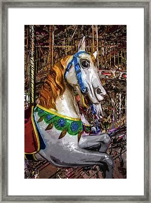 Mall Of Asia Carousel 1 Framed Print