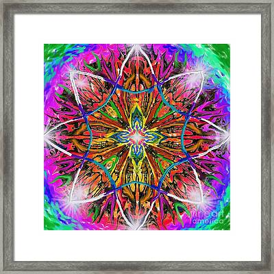 Mandala 12 11 2018 Framed Print