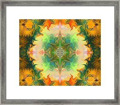 Mandala 12 8 2018 Framed Print