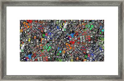 Mandala Grafundi Framed Print