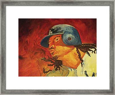 Manny Ramirez Framed Print