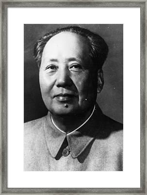 Mao Tse-tung Framed Print by Keystone