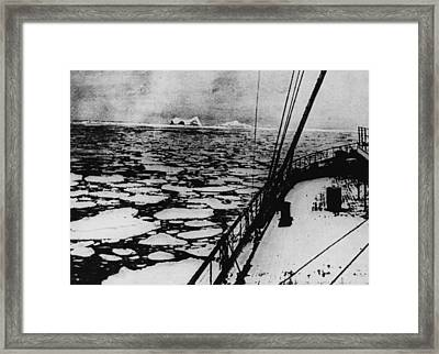 Map Reference Framed Print by Hulton Archive
