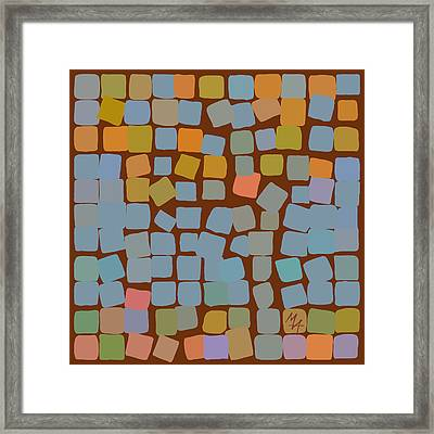 Framed Print featuring the digital art Maple by Attila Meszlenyi