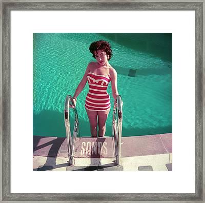Mara Lane Framed Print by Slim Aarons
