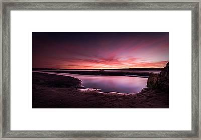 Marazion Sunset Framed Print