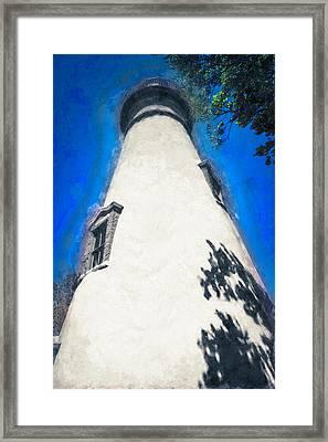 Marblehead Ohio Light Framed Print