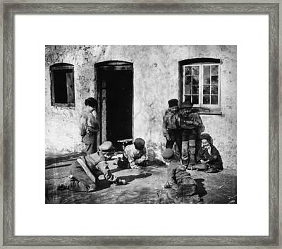 Marbles Framed Print by London Stereoscopic Company