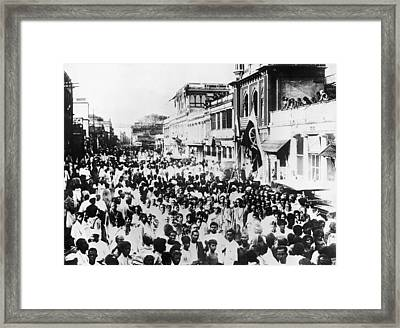 March For Home Rule Framed Print by Hulton Archive