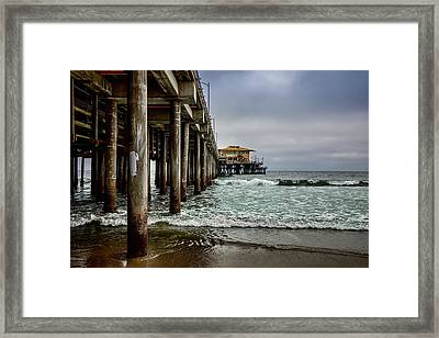 Mariasol On The Pier 2 Framed Print