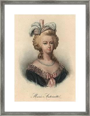 Marie Antoinette Framed Print by Hulton Archive