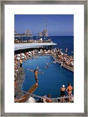 Marina Piccola Framed Print