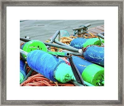 Marks The Spot Framed Print