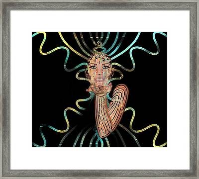 Mask I Cast My Spell You Are Mine Framed Print