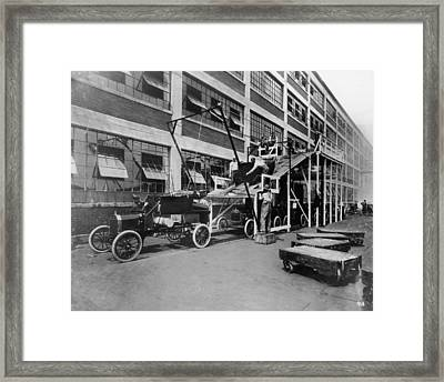 Mass Production Framed Print by Hulton Archive