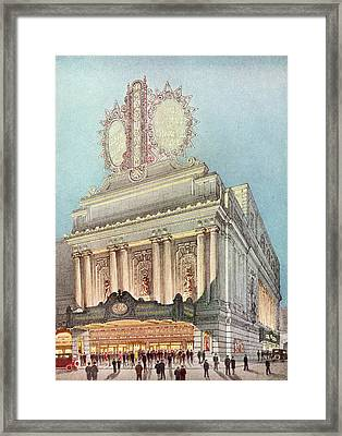 Mastbaum Theatre Framed Print