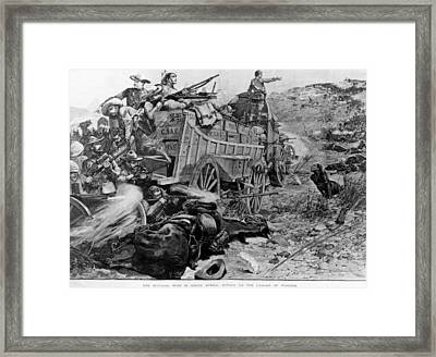 Matabele War Framed Print by Hulton Archive