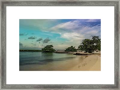 Mayan Shore 2 Framed Print