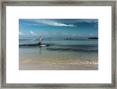 Mayan Shore 3 Framed Print