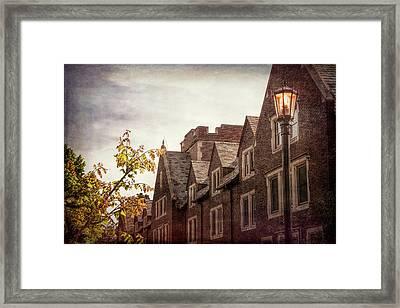 Mayslake Historic Home Framed Print