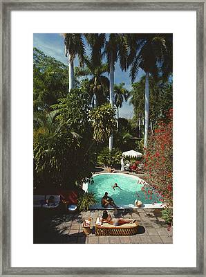 Mazatlan Mansion Framed Print