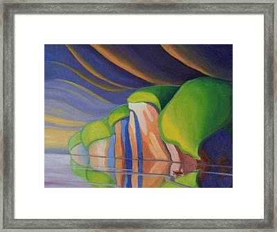 Mazinaw Rock I Framed Print