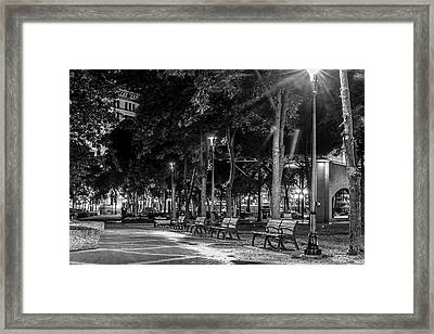 Mears Park Framed Print