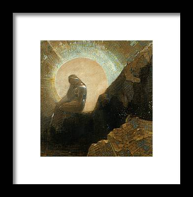 Designs Similar to Melancholy by Odilon Redon