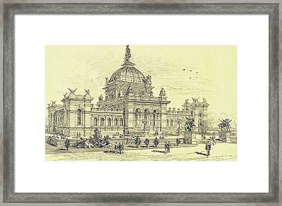 Memorial Hall, Centennial Framed Print