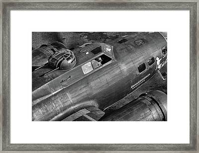 Memphis Belle From On High Framed Print