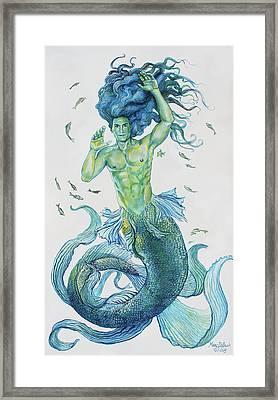Merman Clyde Framed Print