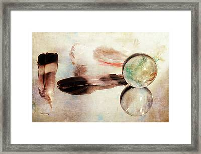 Framed Print featuring the photograph Messages From Above by Randi Grace Nilsberg