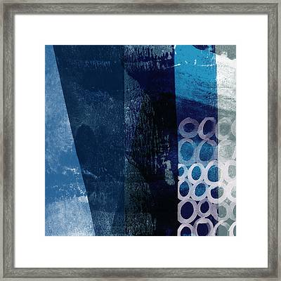 Framed Print featuring the mixed media Mestro 6- Abstract Art By Linda Woods by Linda Woods