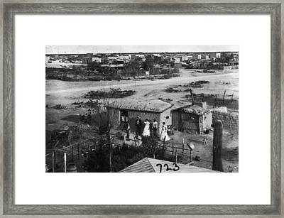 Mexican Immigrants Framed Print by Fotosearch