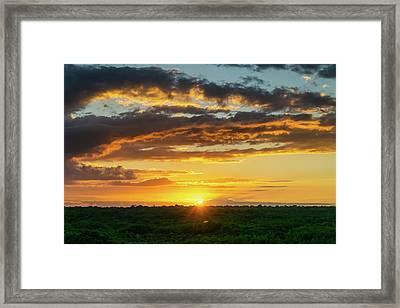 Mexico Sunset Full Framed Print