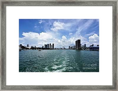Miami2 Framed Print