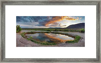 Mickey Hot Springs 2 Framed Print by Leland D Howard