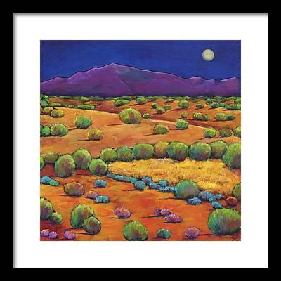 Santa Fe New Mexico Framed Prints